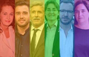 33 políticos españoles LGTB que representan al arcoíris en las instituciones