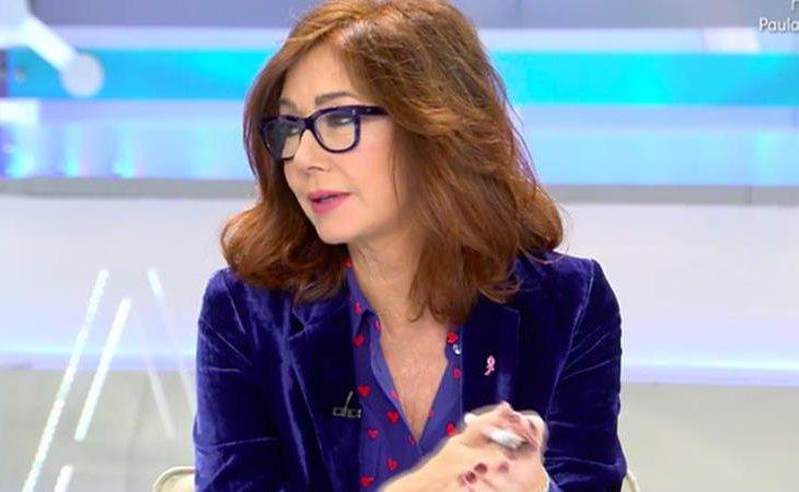 Ana Rosa se ha sincerado sobre su cáncer de mama