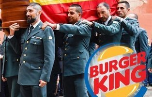 Burger King despide a un trabajador por burlarse del asesinato de un guardia civil