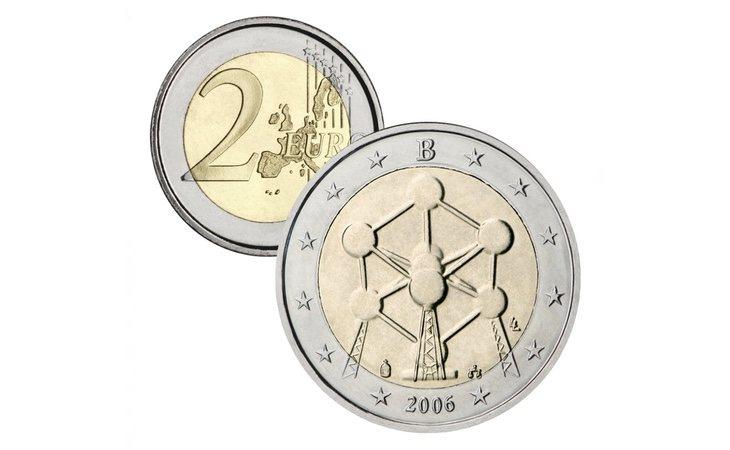 La conmemoración de la reapertura del Atomium ha convertido a esta moneda belga en un valor seguro