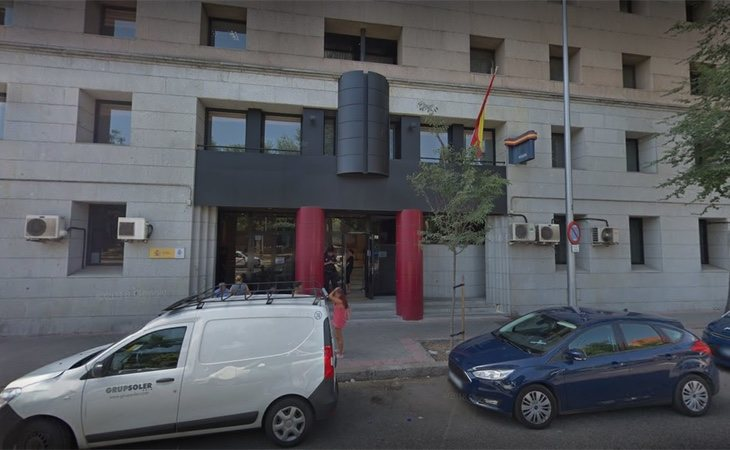 La comisaría de policía de Arganzuela