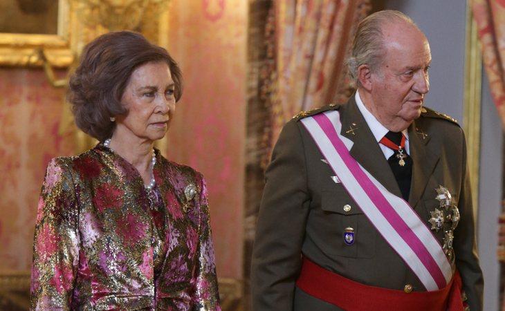 Doña Sofía y Don Juan Carlos apenas mantienen relación