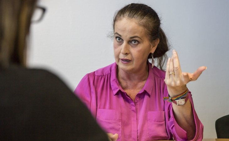 Carla Antonelli, una de las impulsoras de la Ley 3/2007 tras amenazar a su propio partido (PSOE) con iniciar una huelga de hambre