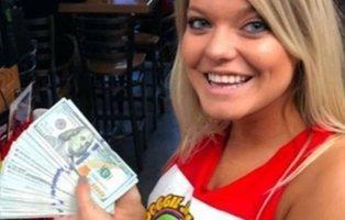 Un youtuber deja 10.000 dólares de propina por dos vasos de agua