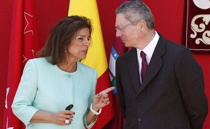 Gallardón y Botella fueron los principales impulsores del cierre del tráfico en el centro de Madrid