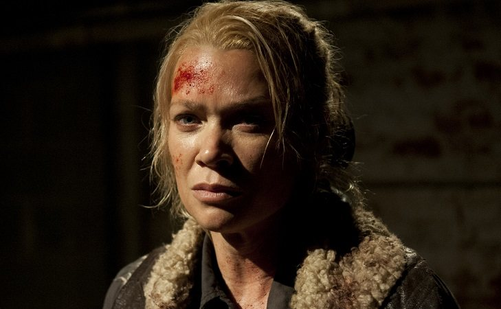 Laurie Holdie como Andrea en 'The Walking Dead'