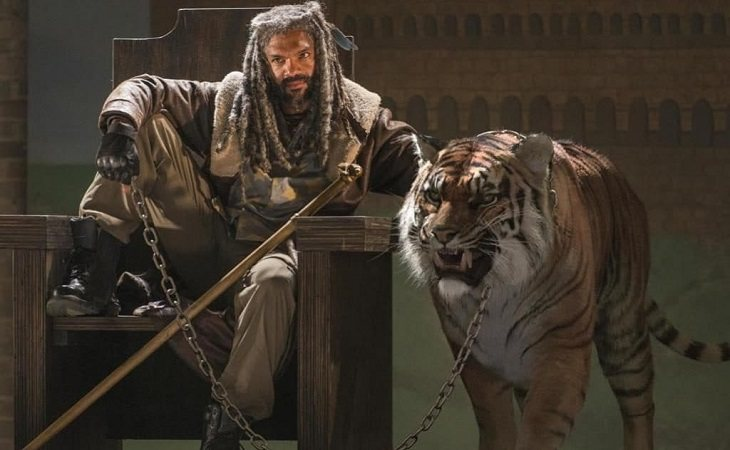 Khary Payton como el Rey Ezekiel en 'The Walking Dead'