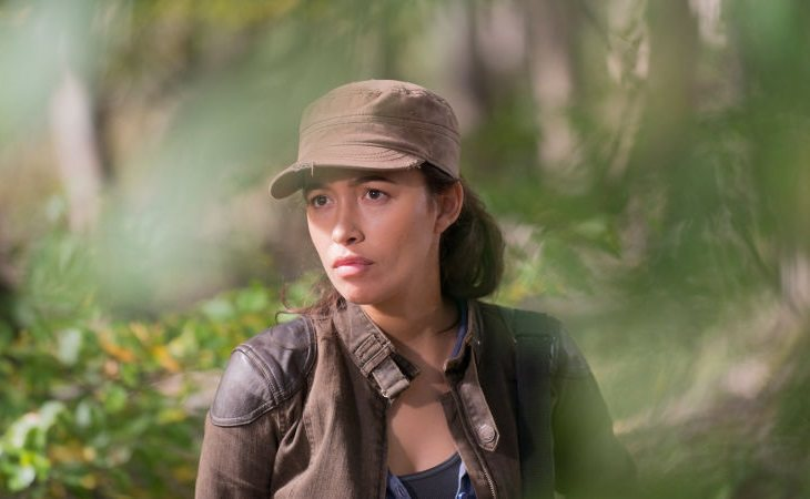 Christian Serratos como Rosita en 'The Walking Dead'