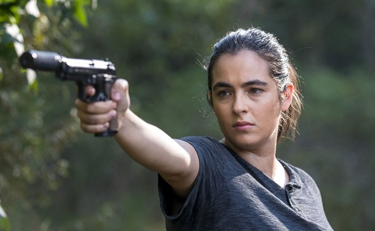 Alanna Masterson como Tara en 'The Walking Dead'