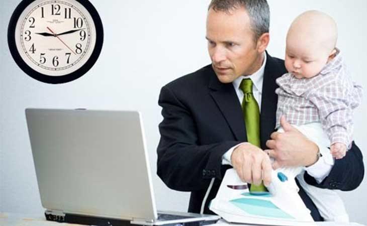 Los hombres menos dispuestos a solicitar la baja por paternidad