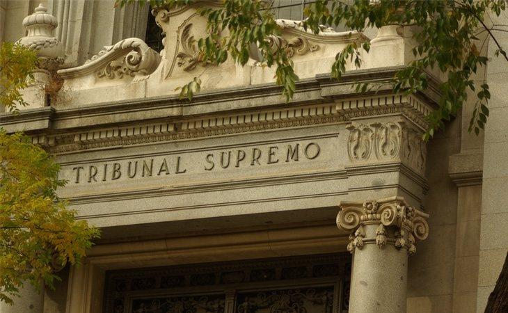 La fachada del Tribunal Supremo en Madrid