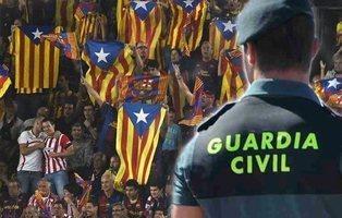Absuelto un guardia civil acusado de pitar el himno de España en la Copa del Rey