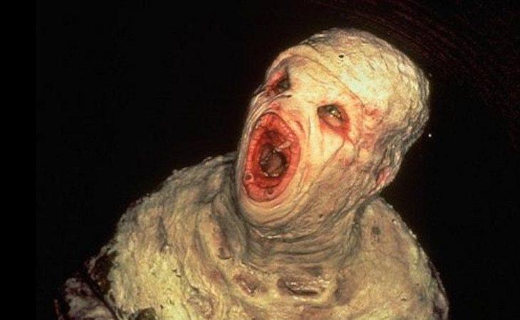 Flukeman, una extraña criatura de 'Expediente X'