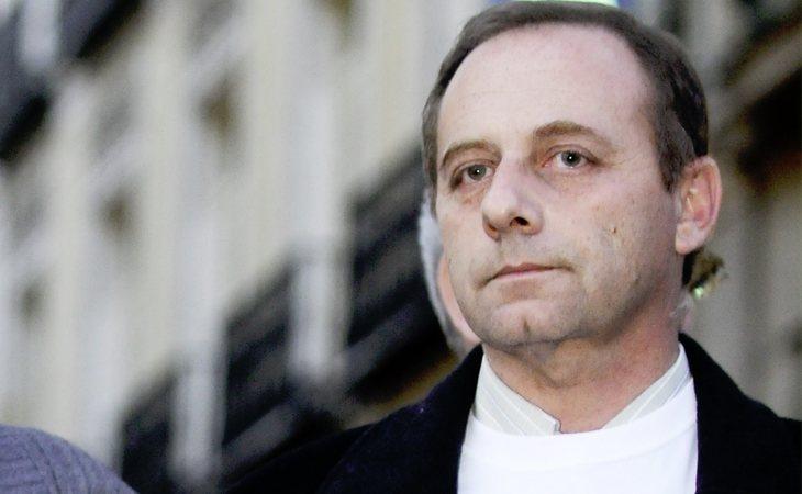 Antonio del Castillo durante una concentración tras la desaparición de su hija en 2009