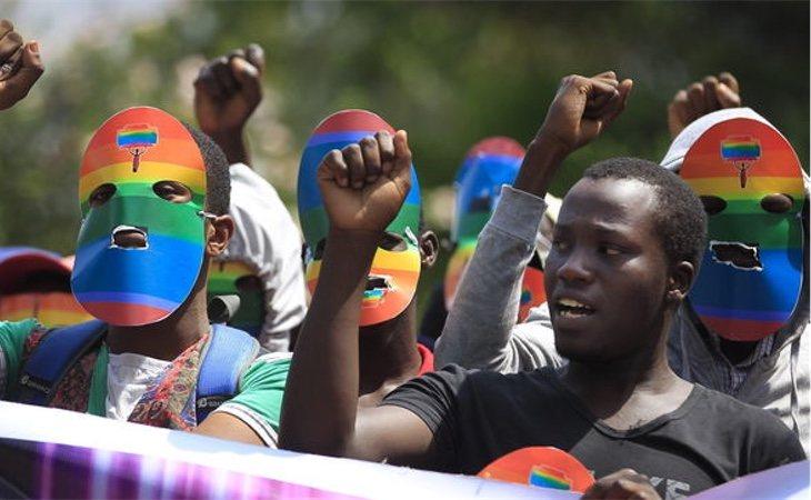 Protesta en Kenia por la ley anti LGTB+ de Uganda