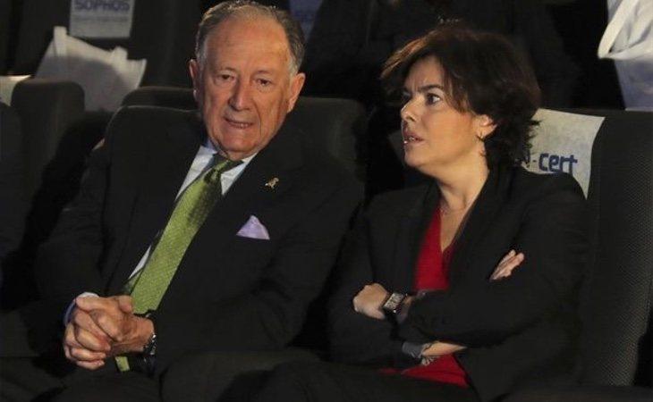 La amistad entre Soraya y Sanz Roldán es ampliamente conocida
