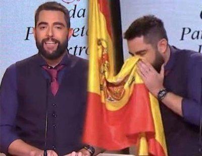 El PP llama a boicotear a Dani Mateo por su sketch con la bandera de España