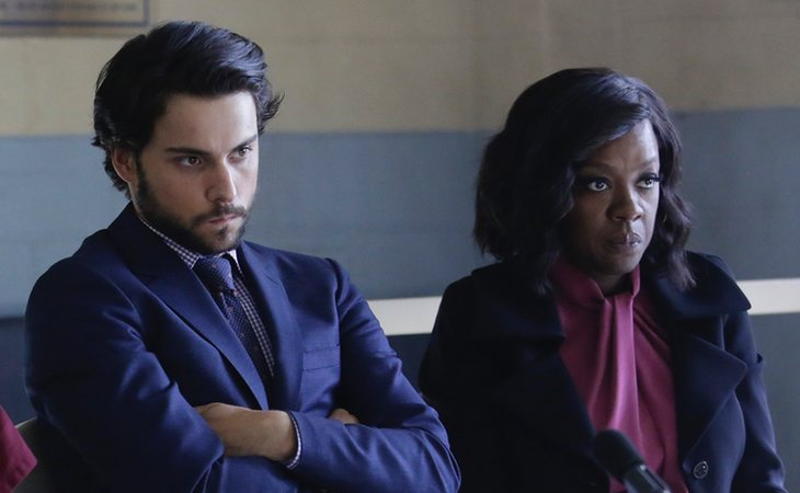 Connor y Annalise, personajes principales de 'How to Get Away with Murder' (ABC)