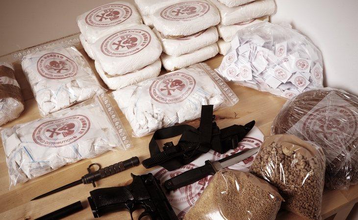 Algunos guardias civiles querían importantes cantidades de hachís como beneficio