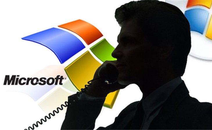 No es la primera estafa que se ejecuta haciéndose pasar por Microsoft