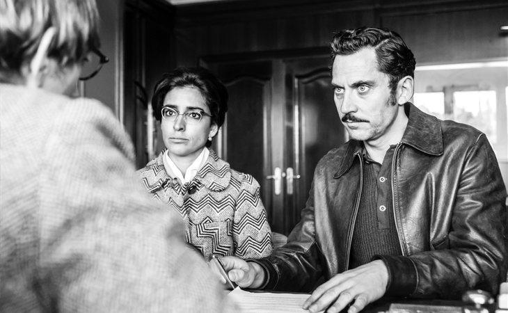 Inma Cuesta y Paco León, como Ana Mari y Manolo en 'Arde Madrid'