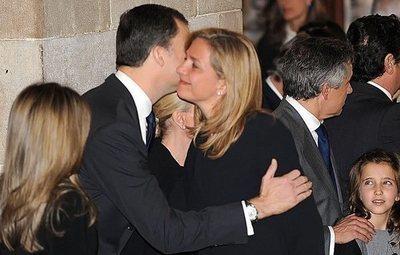 La Reina Sofía logra que sus hijos Felipe VI y la infanta Cristina vuelvan a hablarse