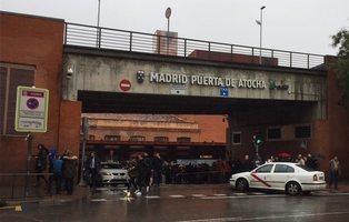 Falsa amenaza bomba en Atocha por una hebilla en forma de granada