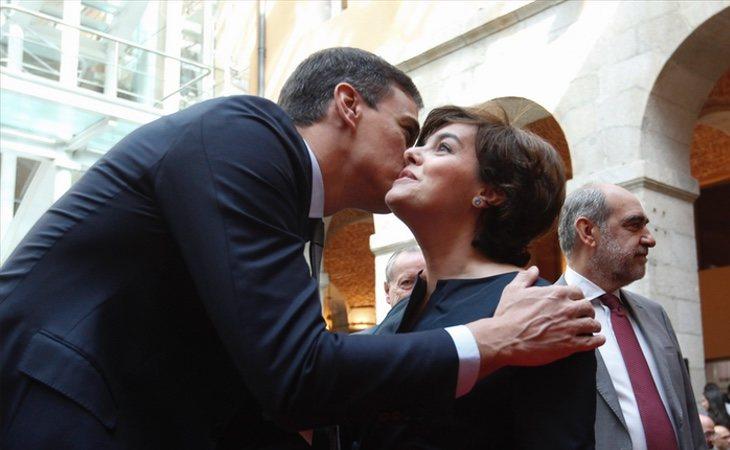 Pedro Sánchez ha proporcionado un puesto a Soraya en el Consejo de Estado tras su salida del Congreso