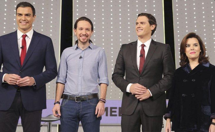 La presencia de Soraya en el debate a las elecciones de 2015 era toda una demostración de intenciones