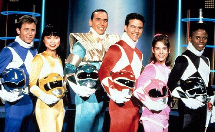 Los intérpretes encargados de dar vida los 'Power Rangers' originales