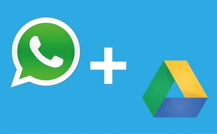 Desde 2015, la app nos permite guardar nuestros mensajes y archivos en nuestra cuenta de Google