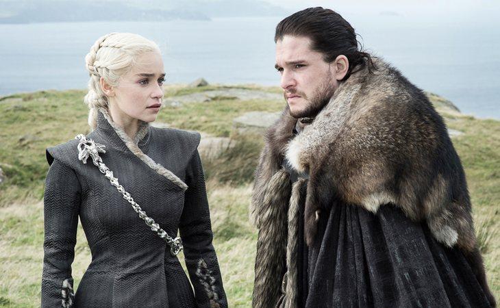 Jon Snow y Daenerys Targaryen, la pareja estrella de 'Juego de tronos'