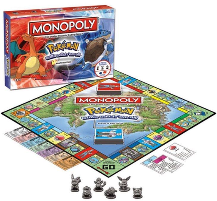 Monopoly Pokémon Región de Kanto | Amazon