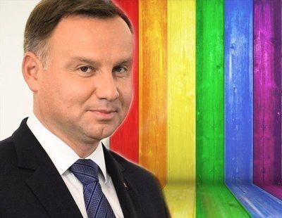 """El presidente de Polonia quiere prohibir la """"propaganda gay"""""""