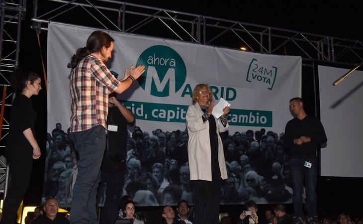 Podemos siempre ha utilizado el Ayuntamiento de Madrid como una de sus principales bazas electorales