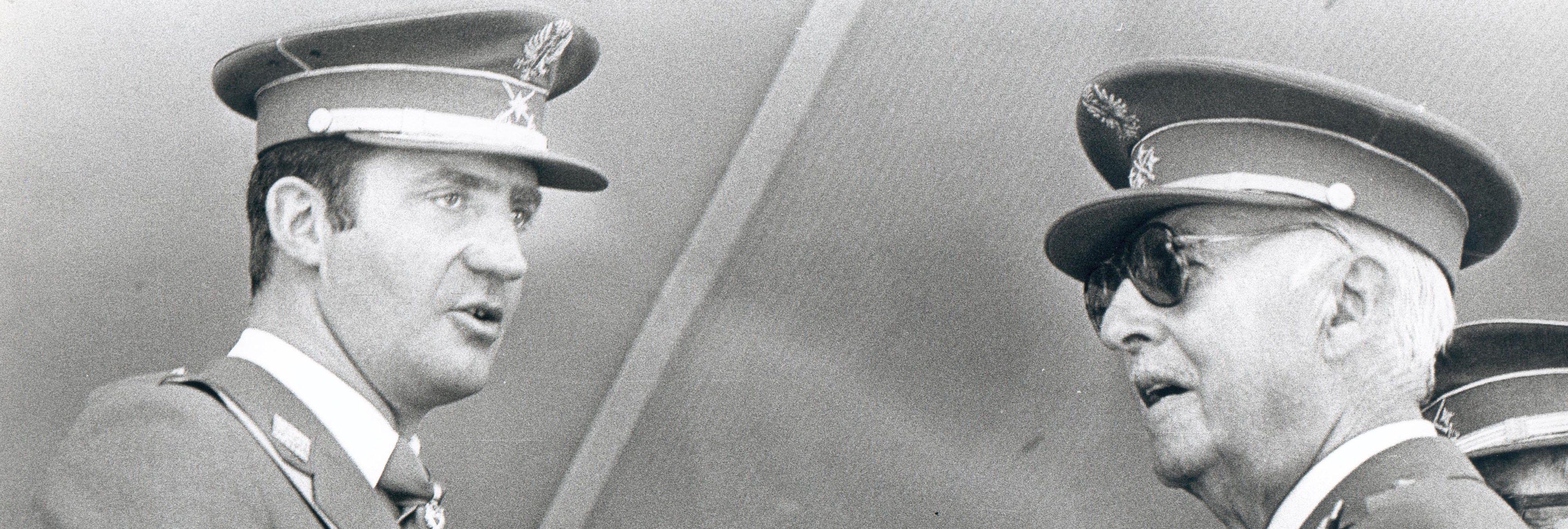 La época en la que el Rey Juan Carlos defendía el franquismo y el golpe de Estado de 1936