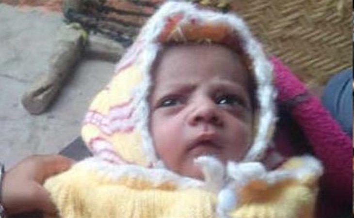 El cuerpo del recién nacido fue encontrado en un tejado
