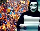 Anounymous acusa al Gobierno de pactar el 1-O y las cargas policiales con la Generalitat