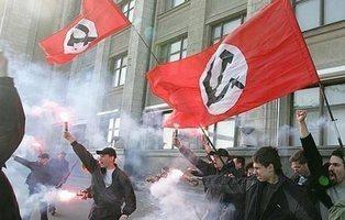 Los comunistas nazis existen y se encuentran en Rusia