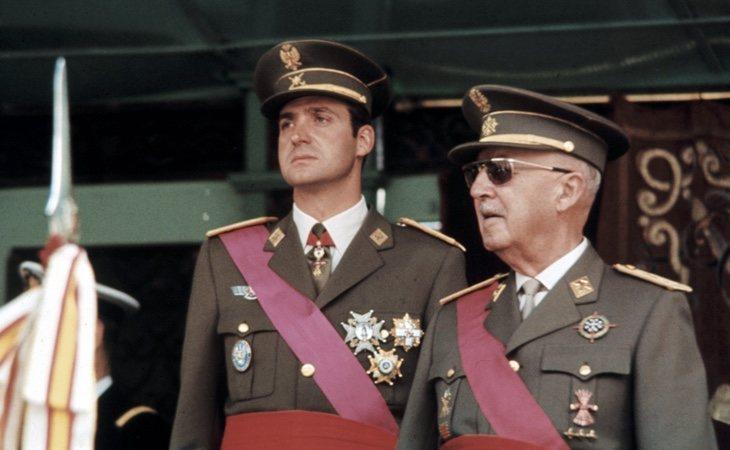 Franco legó la jefatura del Estado al rey Juan Carlos I