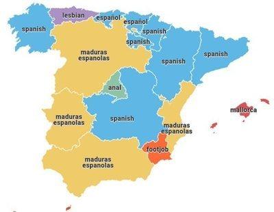 Pornhub publica una lista del porno más buscado por comunidades y Murcia da la sorpresa