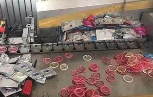 Desmantelan tres fábricas que vendían condones usados en China