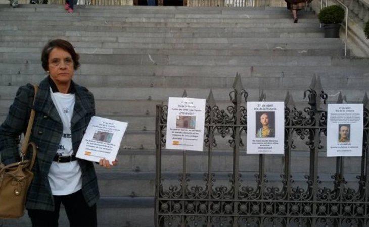 Pilar Gutiérrez pide la santificación de Franco