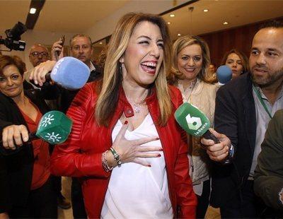Susana Díaz ganará las elecciones de Andalucía y Ciudadanos arrebata votantes al PP