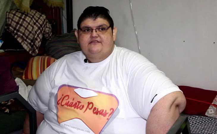 Juan Pedro Franco en pleno proceso de adelgazamiento