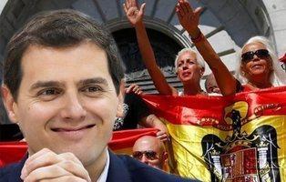 """El vídeo que desmonta la teoría de Albert Rivera de que el fascismo """"no existe"""" en España"""