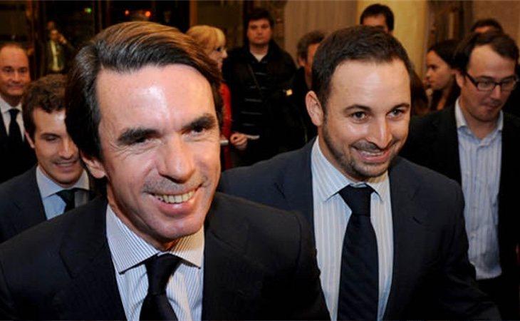 Santiago Abascal creció bajo el manto de la vieja guardia del PP