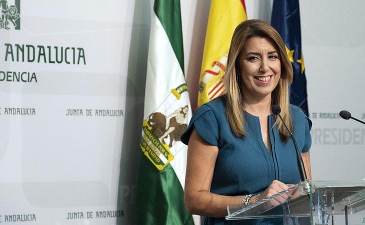 Susana Díaz, candidata a renovar el gobierno del PSOE en Andalucía