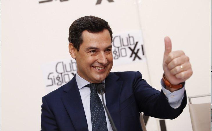 Juan Manuel Moreno, candidato del PP en Andalucía