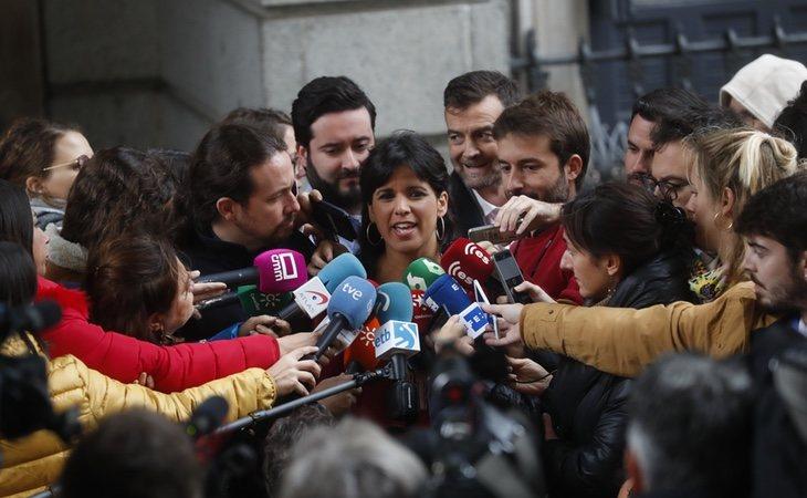 Teresa Rodríguez, de la formación Adelante Andalucía